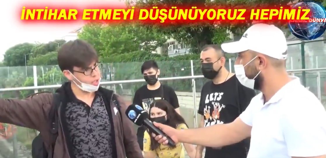 'Erdoğan'ın Karşısına Kim Gelirse Gelsin Veririm' Diyen Genç, 'Annemiz Babamız Olmasa Kendimizi Asacağız' Dedi
