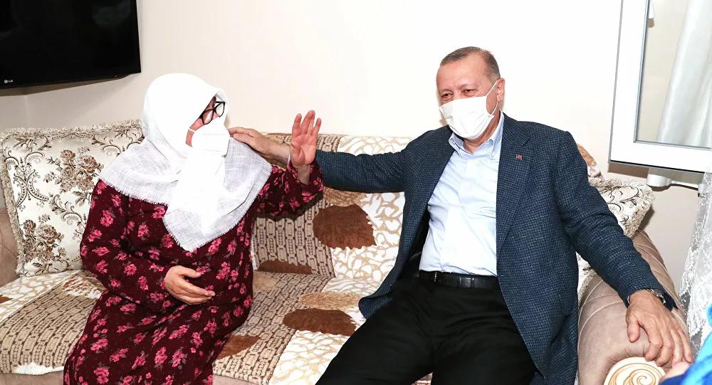 Erdoğan'ın Ziyaret Ettiği Mahruze Keleş: 'Sanki Peygamber Efendimiz Geldi, Evliyamız Geldi Sanki'