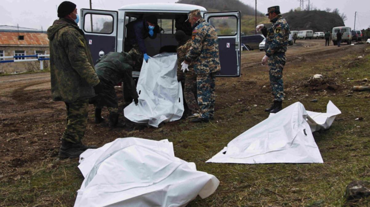 Ermenistan basını Karabağ savaşındaki kirli ittifakı itiraf etti: 248 PKK'lının cansız bedeni morglarda bekliyor