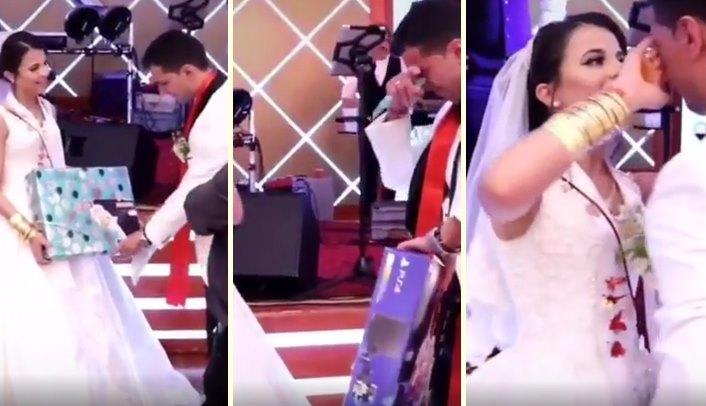 Eşinden Düğün Hediyesi Olarak Playstation Alan Damat Gözyaşlarına Boğuldu