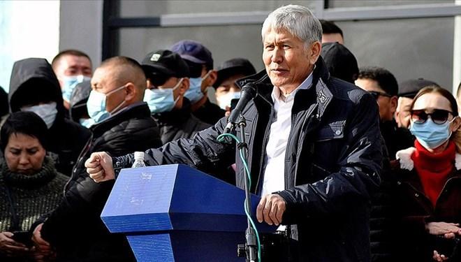 Eski Kırgızistan Cumhurbaşkanı Almazbek Atambayev Gözaltına Alındı