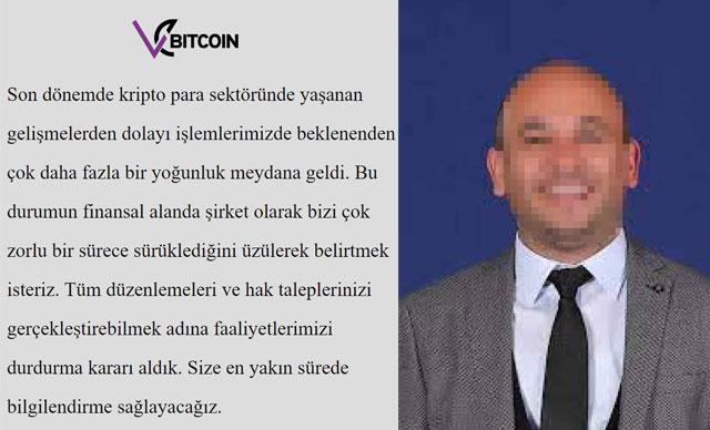 Faaliyetlerini Durduran Kripto Para Platformu Vebitcoin CEO'su Gözaltına Alındı