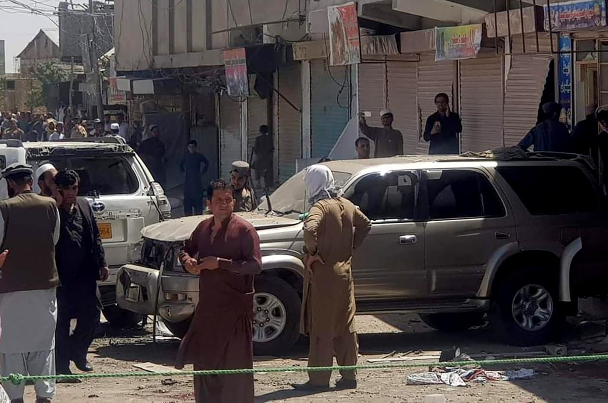 Filistin'e destek eylemine bombalı saldırı: 6 kişi hayatını kaybetti, 4'ü ağır olmak üzere 14 kişi ise yaralandı
