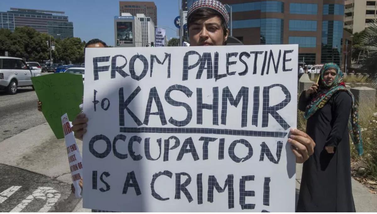 Filistin için dua eden din adamı tutuklandı!