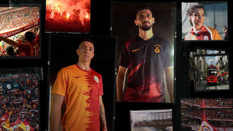 Galatasaray'ın Yeni Sezonda Giyeceği Formaları Tanıtıldı