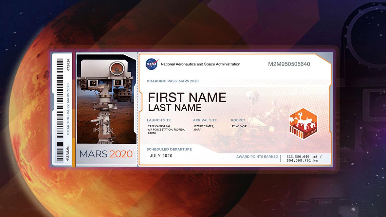 Galatasaray, Perseverance Uzay Aracı ile Mars'a Gönderdiği 4 İsmi Açıkladı