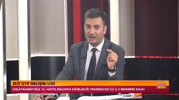 Galatasaray Tv Sunucusu Serbay Şenkal'dan Alkışlanacak Hareket: Fenerbahçe'nin Genç Oyuncusunu Övdü