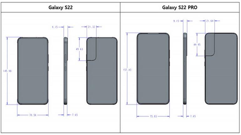Galaxy S22'den detaylı sızıntı