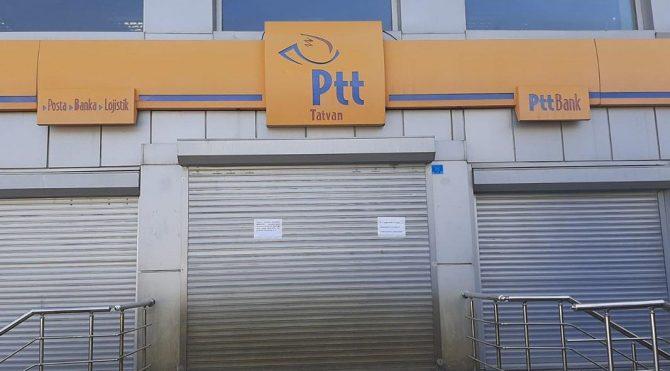 Gaziantep ve Bitlis'te corona alarmı: PTT şubeleri kapatıldı