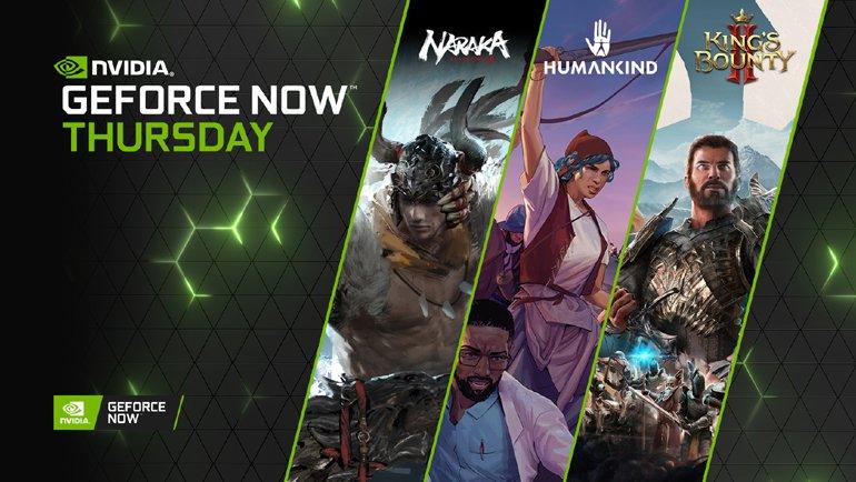GeForce NOW'a yeni 34 oyun!