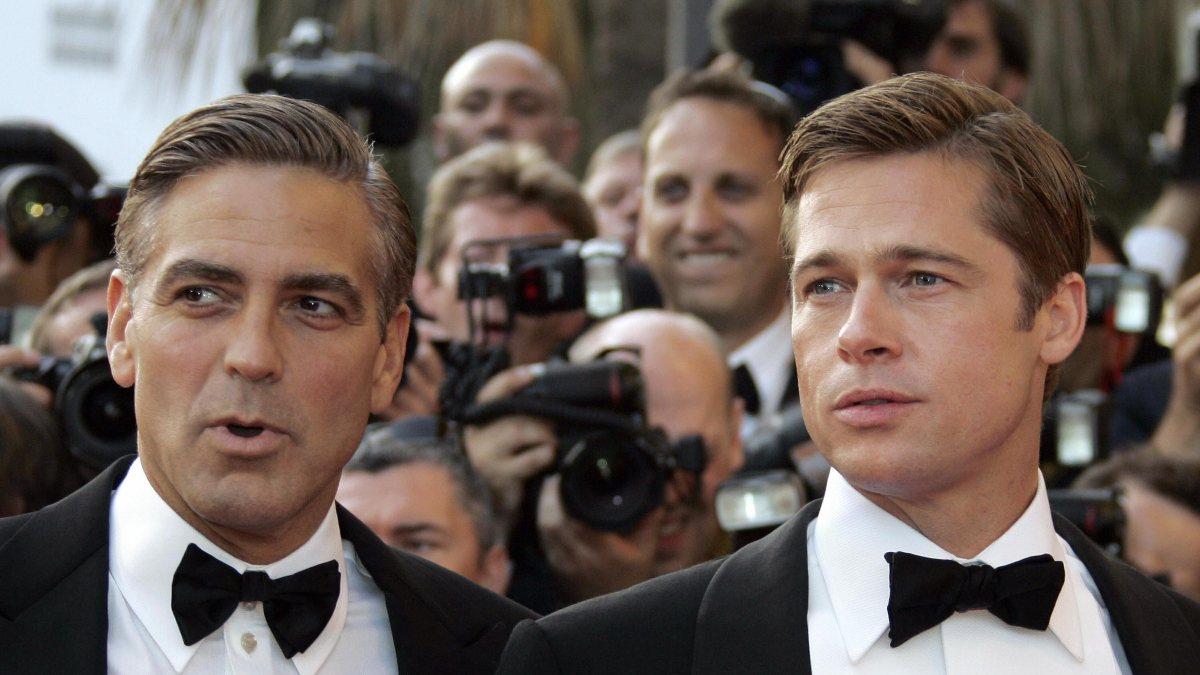 George Clooney ve Brad Pitt yeni filmde buluşacaklar
