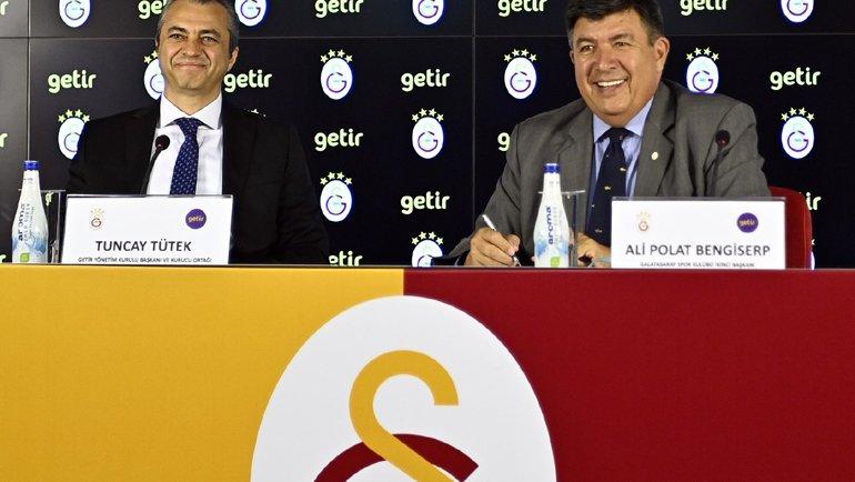 Getir, Galatasaray'ın sponsoru