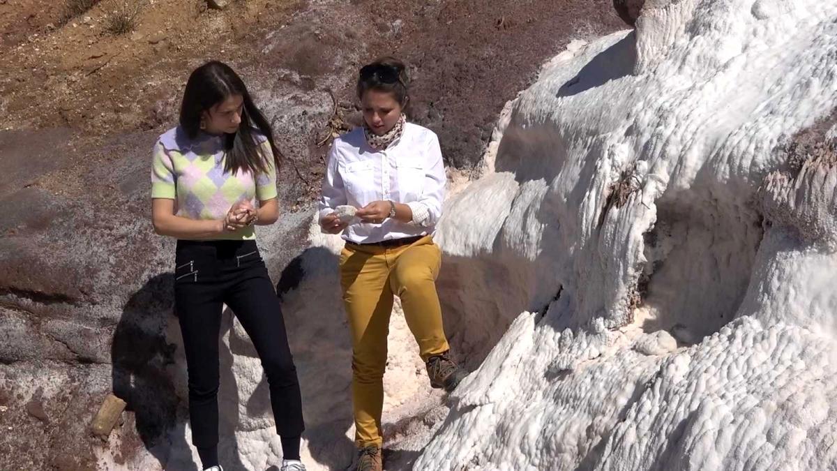 Günlük 200 bin litre çıkan doğal kaynak suyundan elde ediliyor: Mineral deposu tuz, 5 bin yıldır kullanılıyor