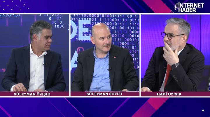 Hadi ve Süleyman Özışık ile Süleyman Soylu Arasındaki 'Türkiye'deki Mafya' Diyaloğu