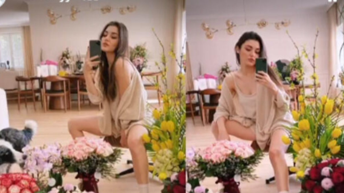 Hande Erçel'in ev kıyafetinin fiyatı