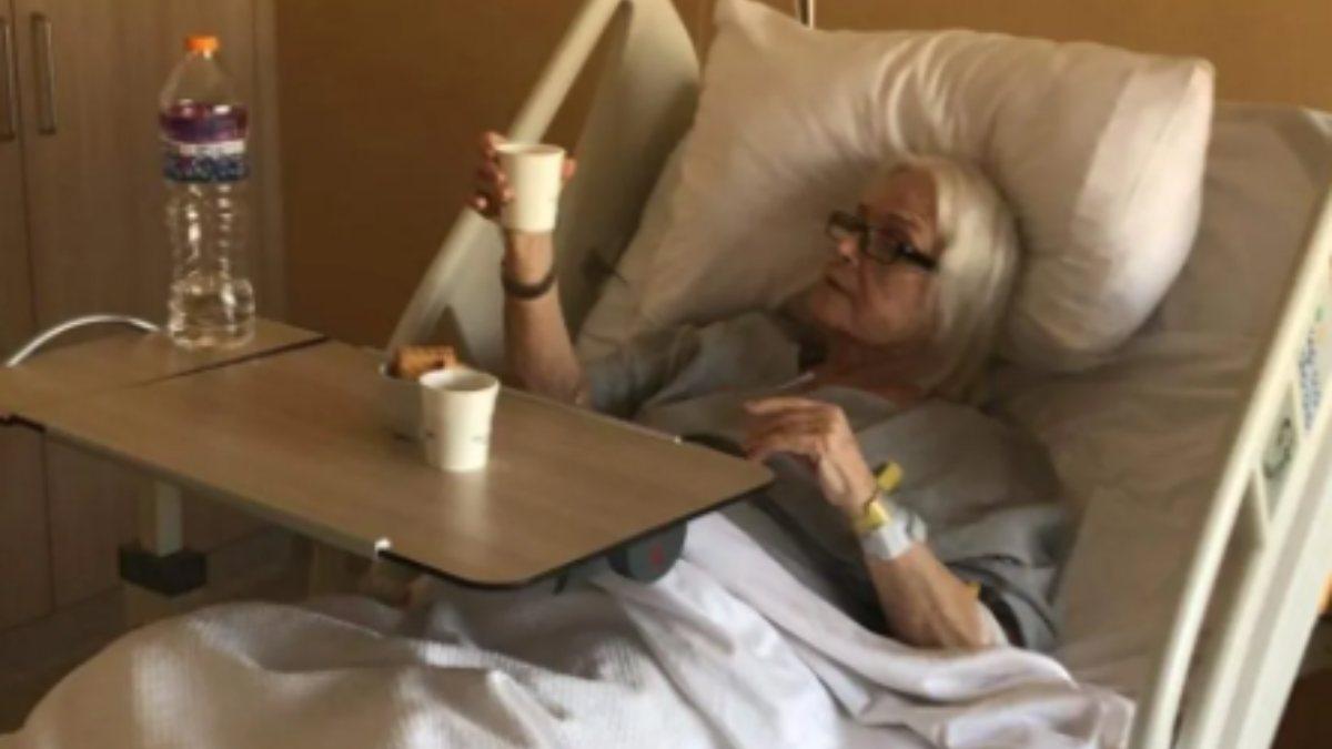 Hastanelik olan Gönül Yazar'dan haber var: Durumu iyi
