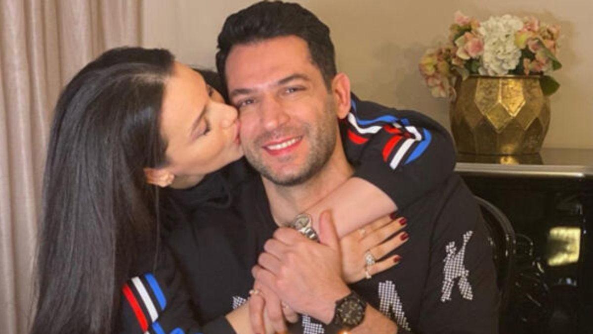 Iman Elbani eşi Murat Yıldırım'ın doğum gününü kutladı