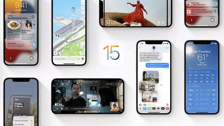 iOS 15'te bir garip sorun