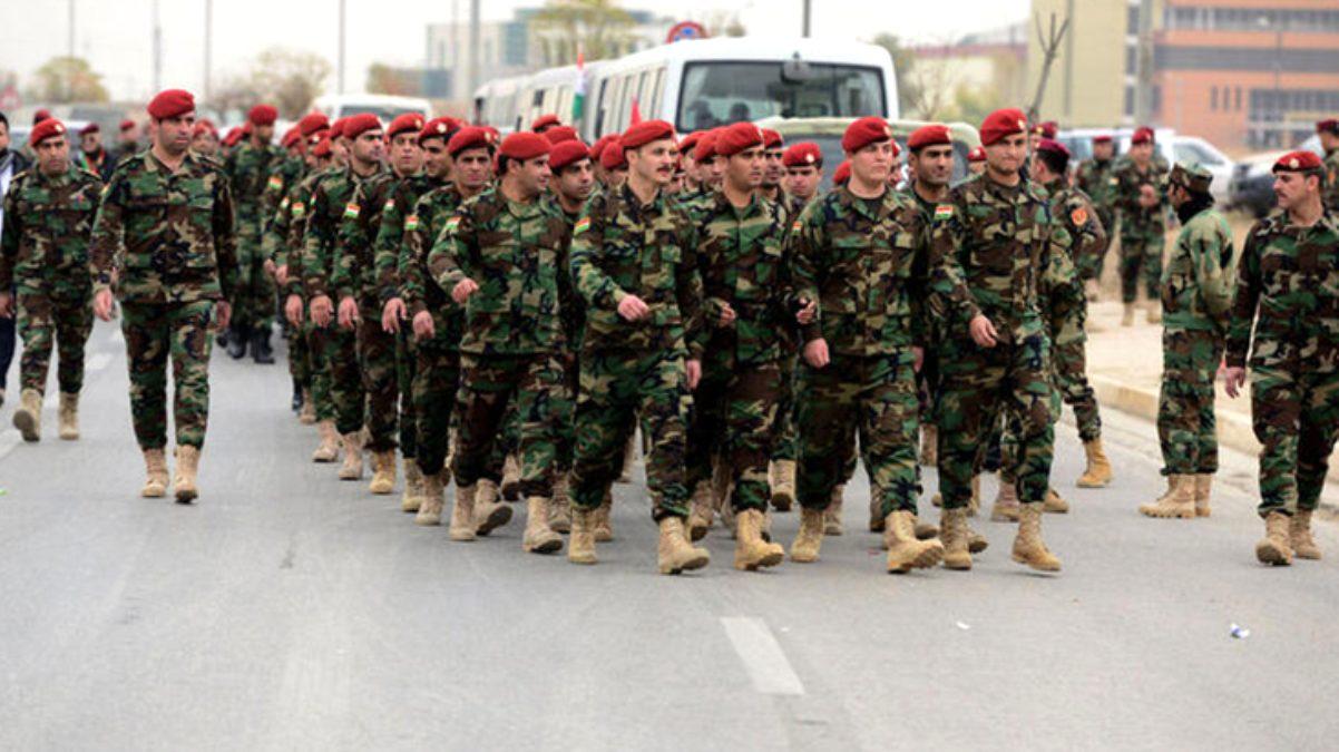 Irak'ta Türkiye sınırındaki Metina Dağı'na Peşmerge konuşlandırıldı
