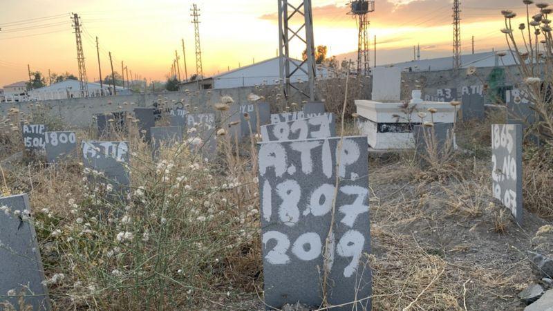 İsimler Yerine Sayılar: Van'ın Kimsesizler Mezarlığı Göçmenlerle Birlikte Büyüyor