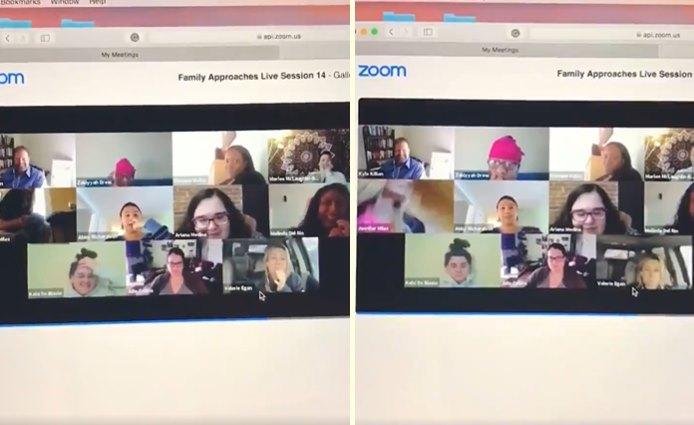 İşini Evden Yaparken Video Konferans Yaptığını Unutan Kadın, Kamerayla Tuvalete Girdi