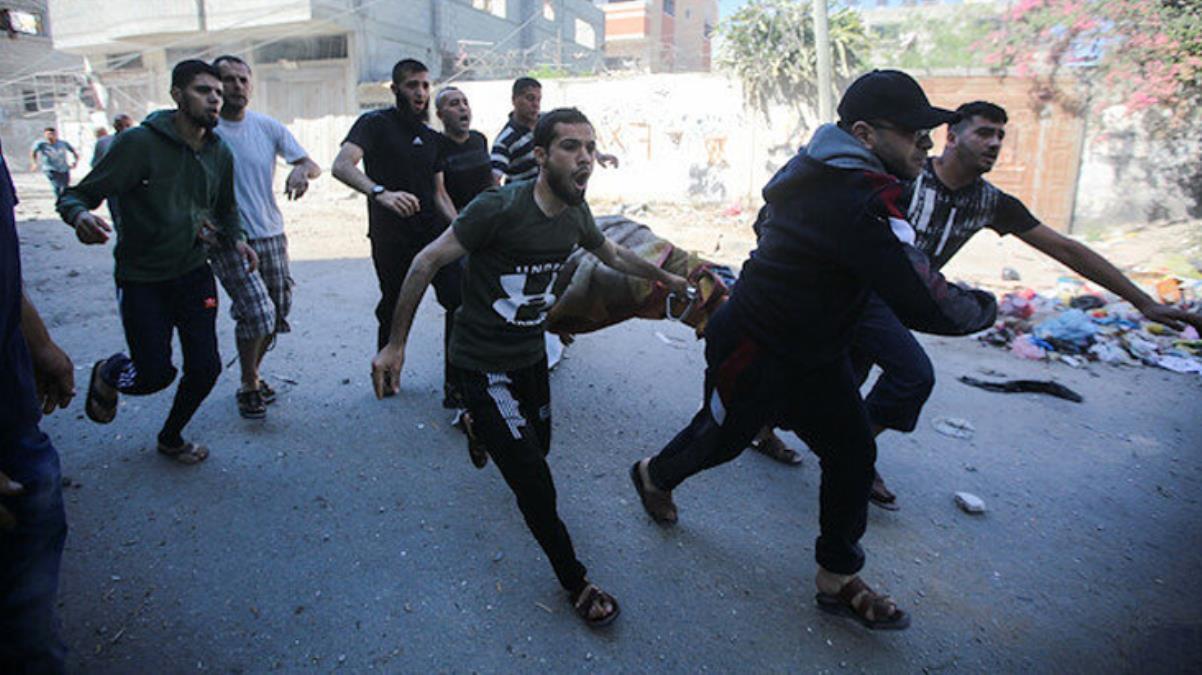 İsrail, Gazze'de 6 kişilik aileyi katletti! Aralarında hamile bir kadın da vardı