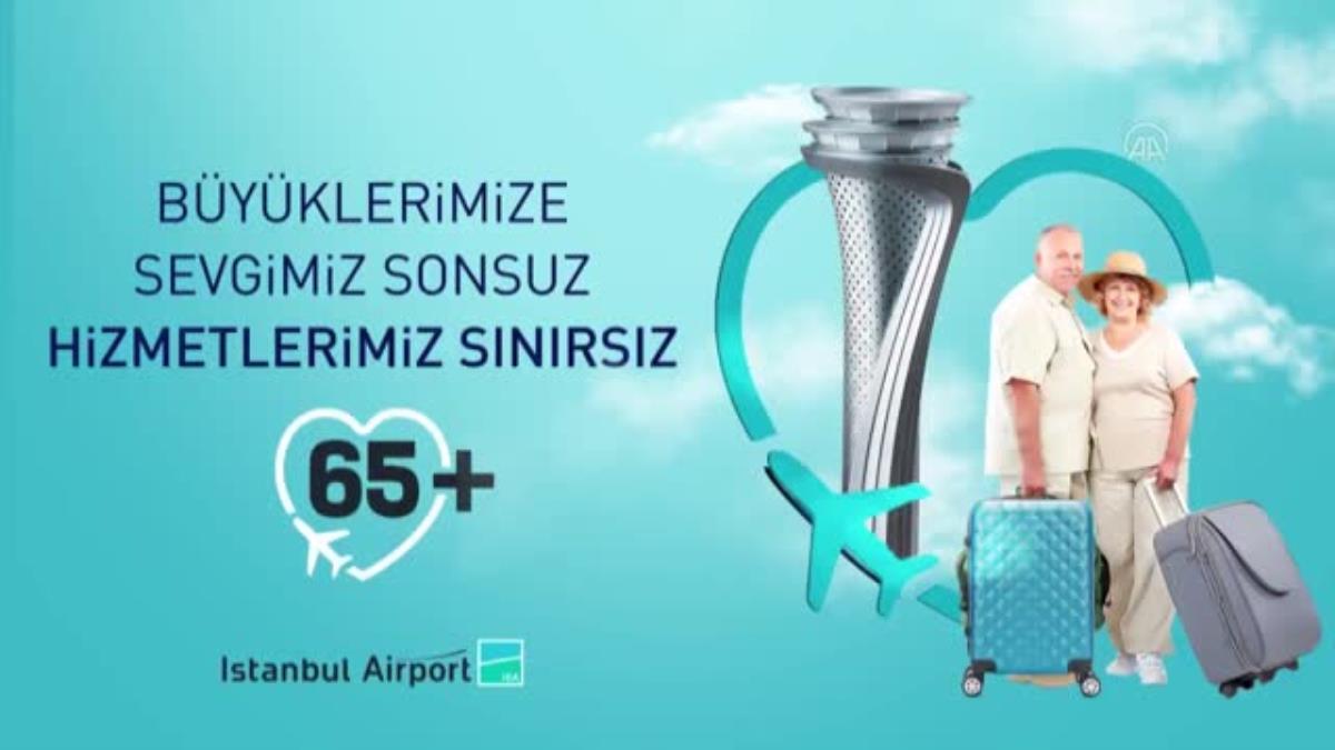 İstanbul Havalimanı İşletmecisi İGA'dan 1 Ekim Dünya Yaşlılar günü paylaşımı