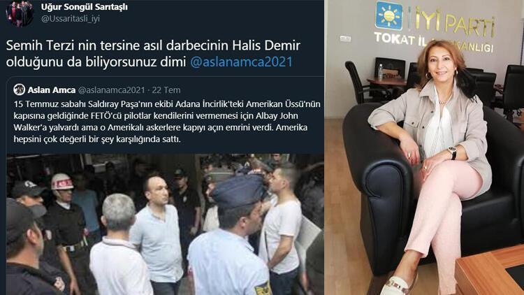İstifa Etti: Ömer Halisdemir İçin 'Darbeci' Diyen İYİ Partili Uğur Songül Sarıtaşlı'ya Soruşturma