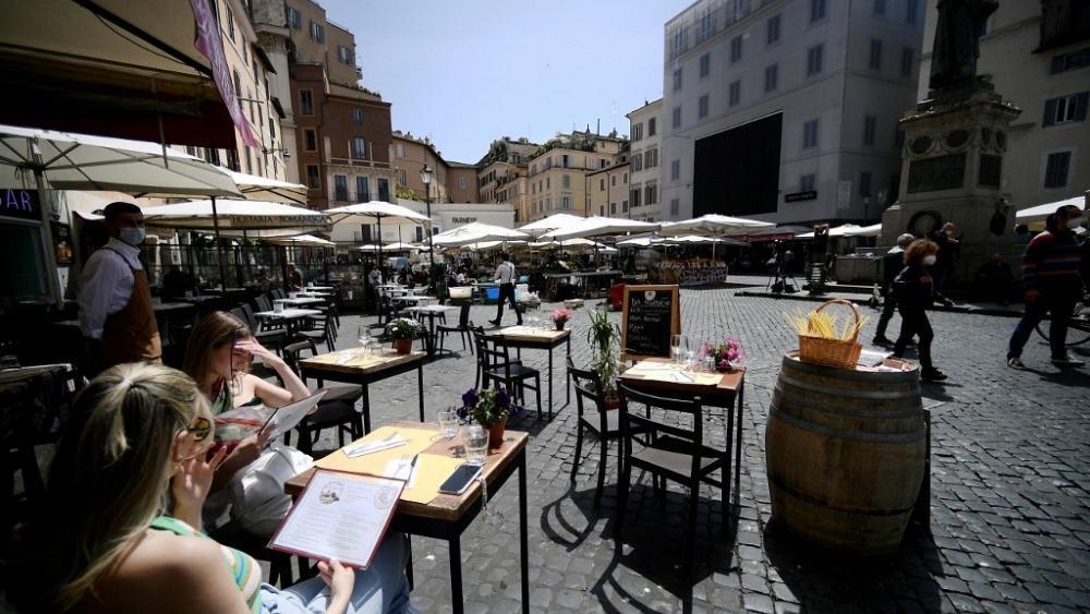 İtalya'da Kapalı Mekanlara Girişte 'Aşı Kartı' Zorunluluğu