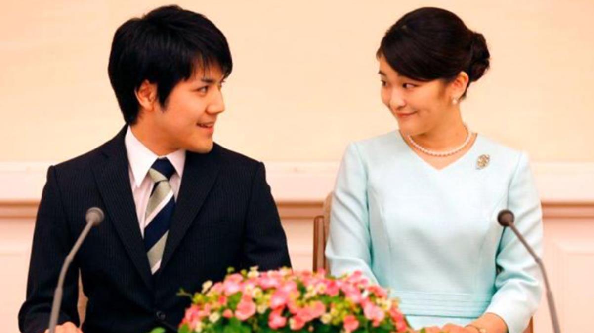 Japonya'da Prenses Mako, halktan biri olan nişanlısı ile ay sonunda evlenerek kraliyet statüsünü kaybedecek