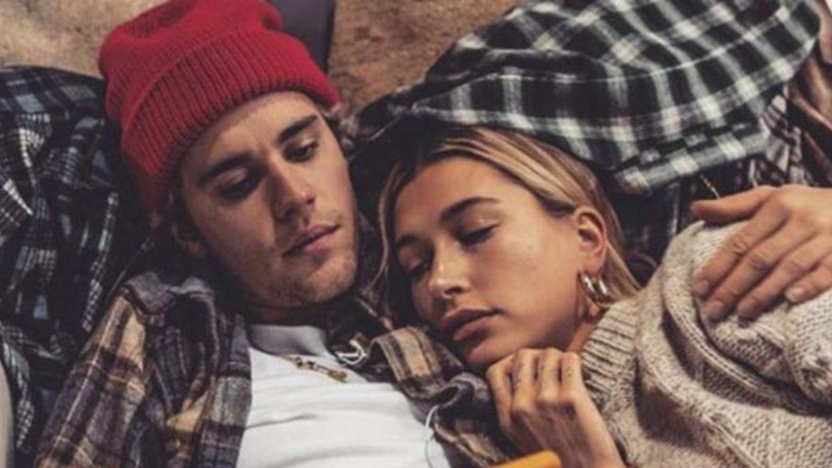 Justin Bieber ve Hailey Baldwin'den aşk pozu