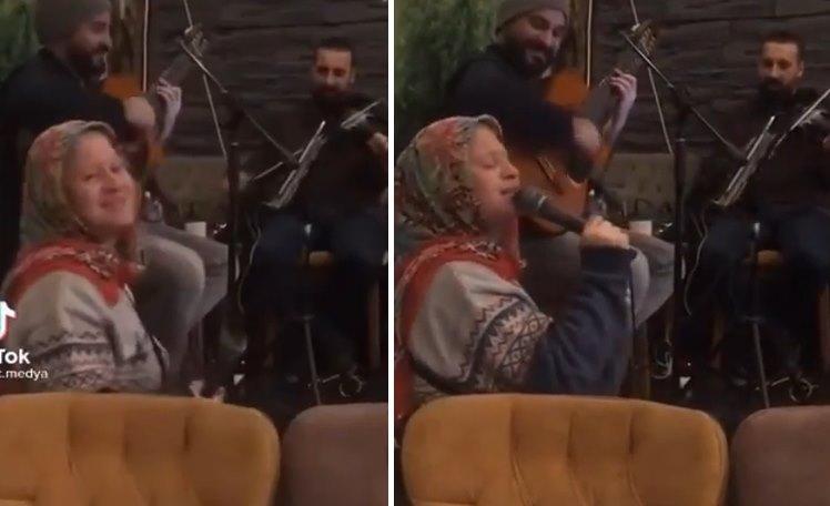 Kafede Mendil Satan Kadına Mikrofon Verilmesiyle Yaşanan Muhteşem Olay