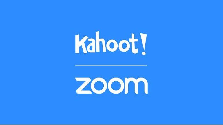 Kahoot! ile Zoom'dan iş birliği
