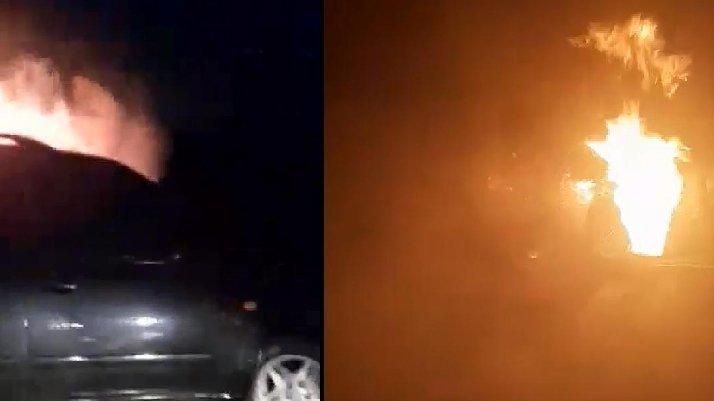Kardeşini Taciz Ettiği İddiasıyla Komşusunun Arabasını Yaktı