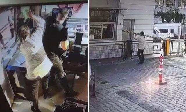 Kargo Paketi Kapısına Çıkartılmayan Kadın Olay Çıkardı