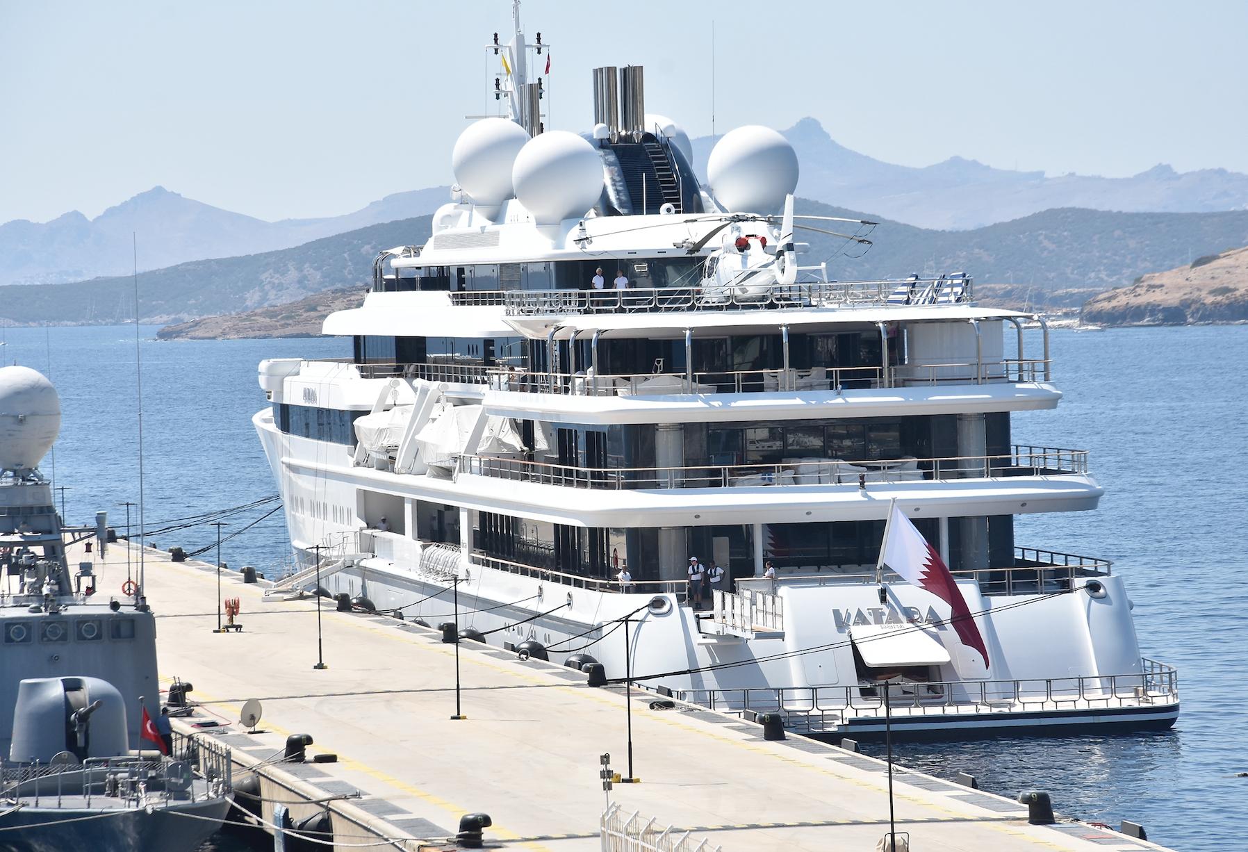 Katar Kraliyet Ailesi Bodrum'da: 2 Kamyon, 500 Valiz ve 180 Personel