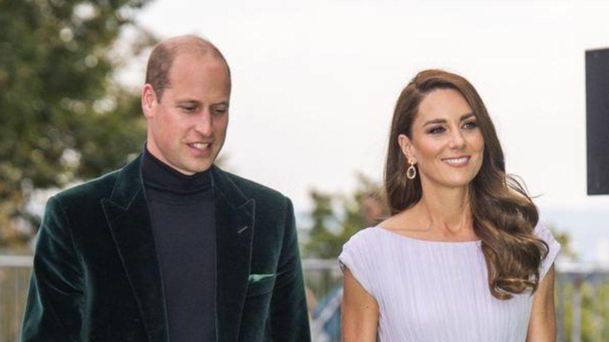 Kate Middleton 10 yıl önceki elbisesiyle davete katıldı