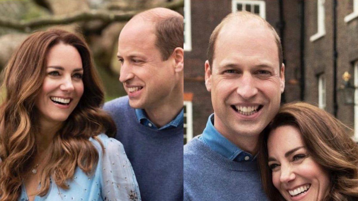 Kate Middleton ve Prens William'dan 10. yıl pozu