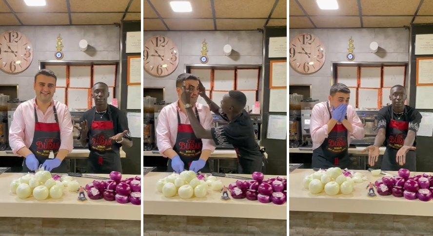 Khaby Lame, Türkiye'de: Pratik Bilgi Videolarına Tepki Çeken Khaby, CZN Burak ile TikTok Videosu Çekti
