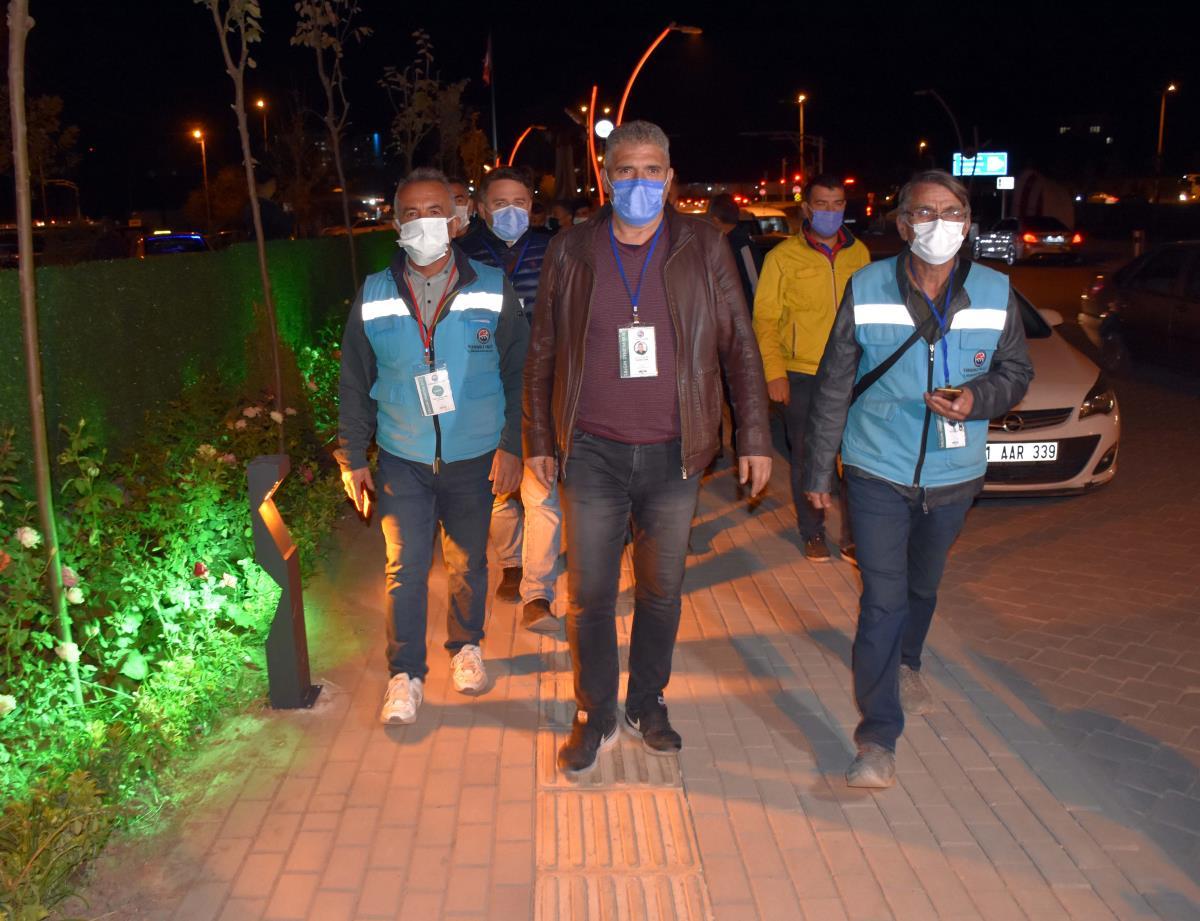 Kırıkkale'de kafeler Kovid-19 tedbirleri kapsamında denetlendi