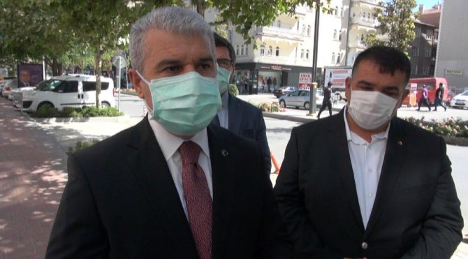 Kırşehir Valisi Akın: İlimizde vaka sayılarında artış var