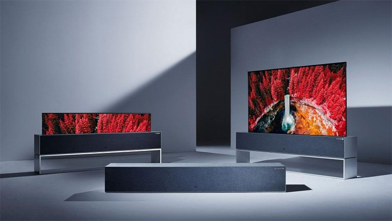 Kıvrılan TV çok pahalı çıktı