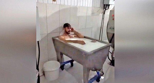 Konya'daki 'Süt Banyosu' Olayında Tutuklanan Şahıslar Tahliye Edildi