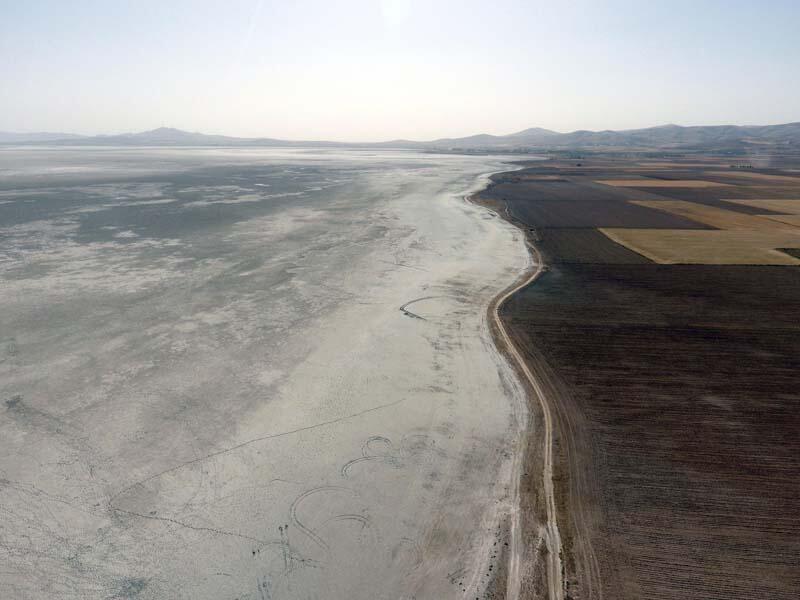 Kuş Cenneti Seyfe Gölü Tamamen Kurudu
