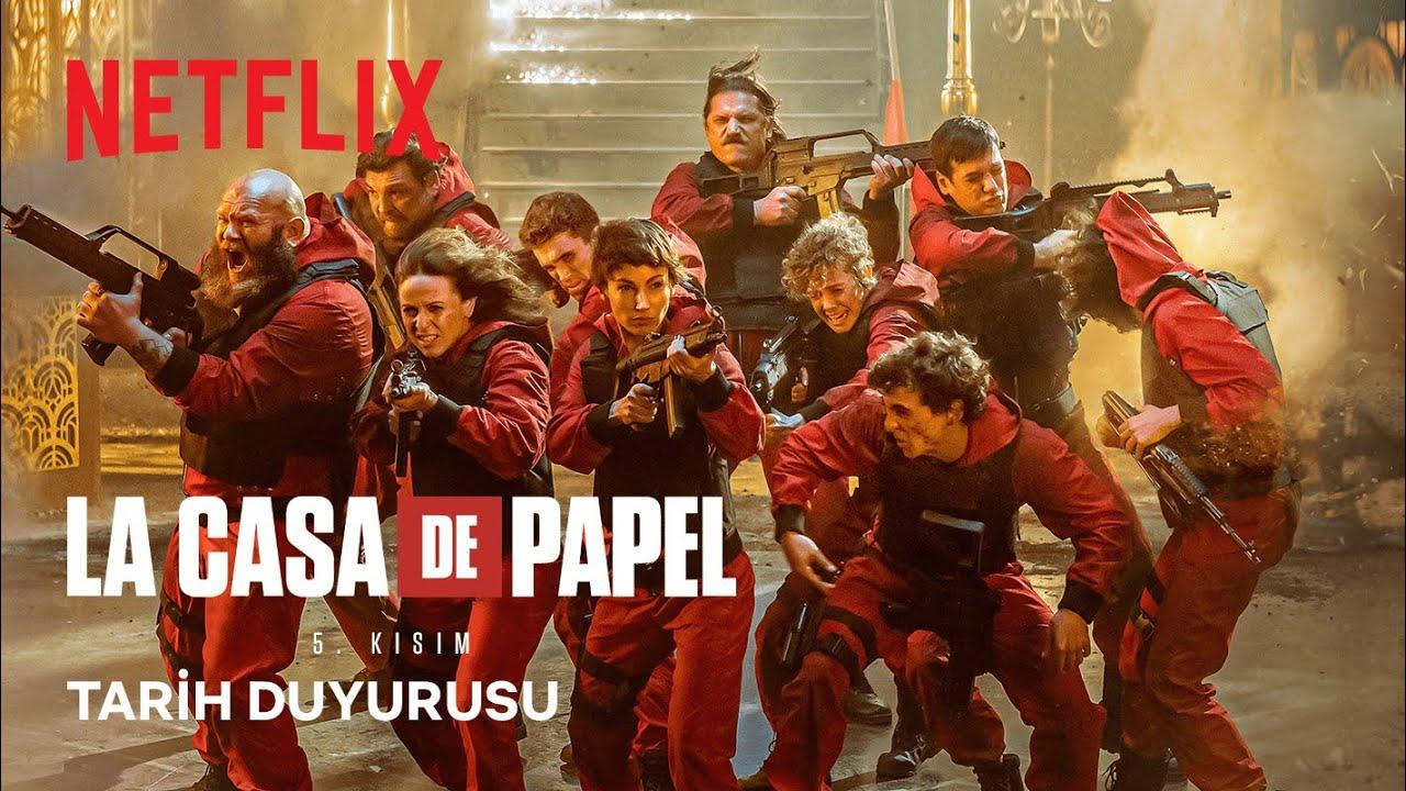La Casa De Papel'in 5. Sezonunun Ne Zaman Yayınlanacağı Belli Oldu