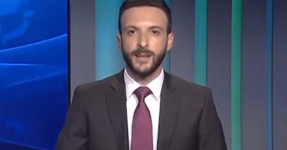Lübnanlı Spiker Canlı Yayında İstifa Etti: 'Rüyalara Mezar Olan Bu Topraklarda Artık Duramıyorum'