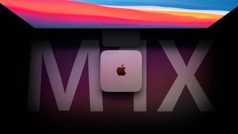 M1X işlemcili Mac mini geliyor