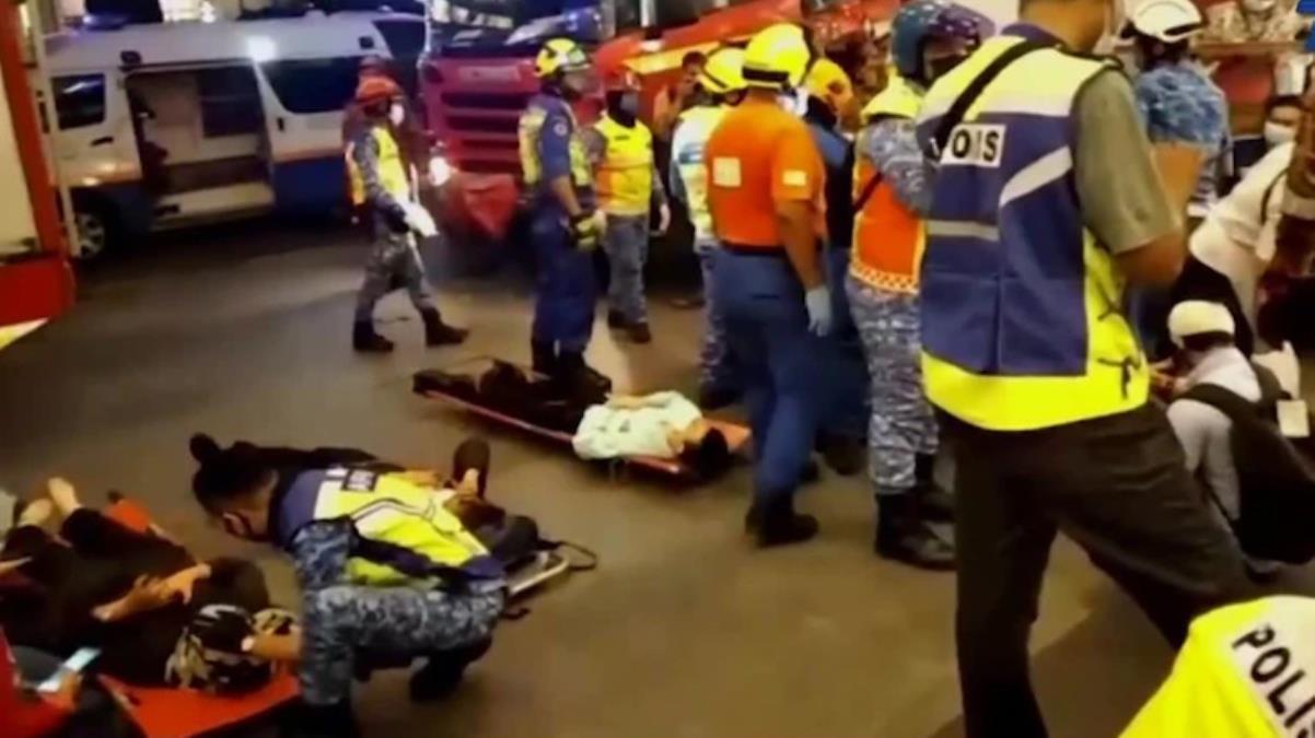 Malezya'da metro hattındaki iki trenin çarpışması sonucu 213 kişi yaralandı