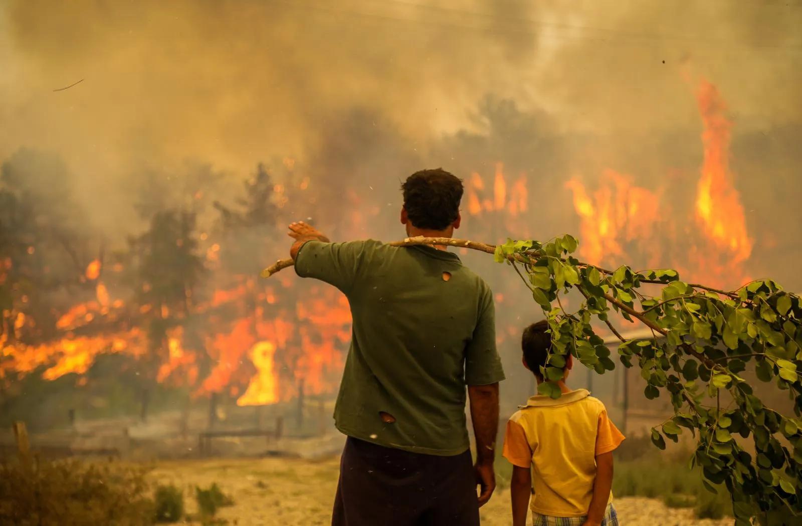 Manavgat Yangını İçin Tutuklanan Şahsın Ses Kaydı Ortaya Çıktı: 'Benzin Döke Döke, Yaka Yaka Gittim'