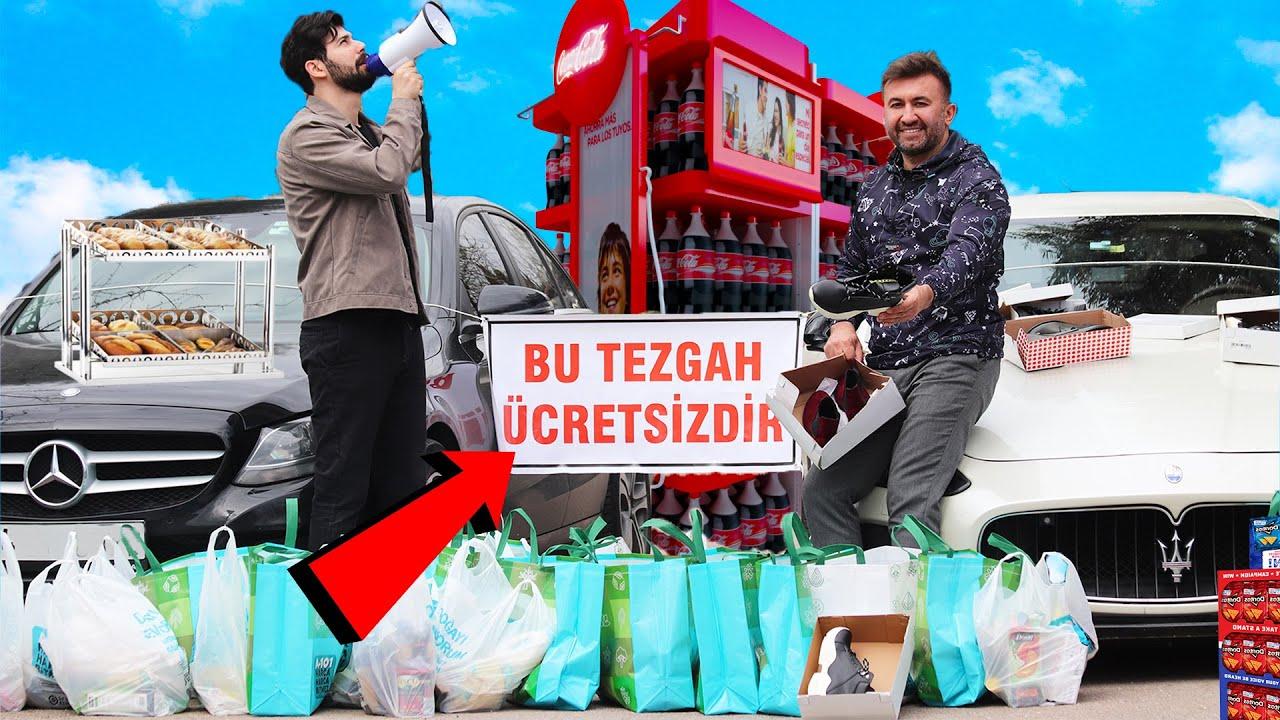 Marketten Yaptıkları Alışverişi İhtiyaç Sahiplerine Dağıtan YouTuberlar